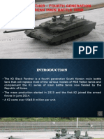 K2 Black Panther - Fourth Generation South Korean Main Battle Tank
