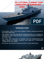 Freedom Class Littoral Combat Ship - Ensuring Freedom Of American Seas