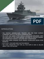The Fridtjof Nansen-Class Frigates - Royal Norwegian Navy