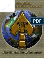 SOCOM 2020 Strategy Forging the Tip of the Spear