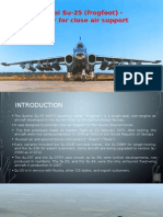 Sukhoi Su-25 (FrogFoot) - Fighter For Close Air Support