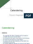 1. Calendering