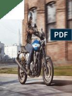 2015 Yamaha XJR1300 EU Power Blue Action 001