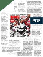 NME magazine analysis