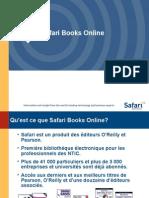 SafariBooksOnline présentation