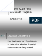 Overall Audit Plan and Program - Arens-Beasley-Elder