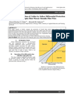 A Study on Protection of Cables by Solkor Differential Protection Relay with Fibre Optic Pilot Wireor Metallic Pilot Wire