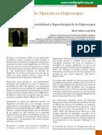 SENSIBILIDAD Y ESPECIFICIDAD DE LA COLONOSCOPIA