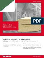 ROCKWOOL RockTech B (Blanket) Series LR.pdf