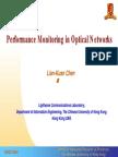 Optical Performance Monitoring