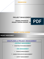 Contract Management- Fidic 1999