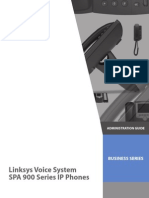 Linksys Voice System SPA 900 Series IP Phones