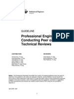 Peer and Technical Review Guideline April 2009