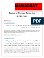 Fatema Zahra (sa) - Her Status and Pains