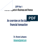 Classification in Islamic Finance