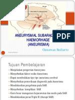 Aneurysmal Sub Aracnoid Haemorhage (Aneurisma)