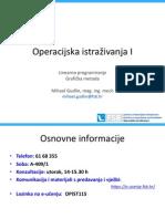 Linearno Programiranje Grafička Metoda-VJEŽBE