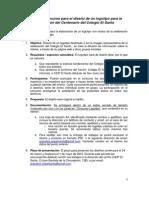 Bases Del Concurso. Logotipo Del Centerario Del CEIP El Santo