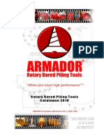 Armador Bored Piling Tools 2010