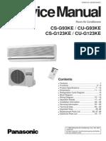 CS-G93KE Service Manual