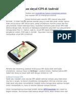 Menguatkan Sinyal GPS Android