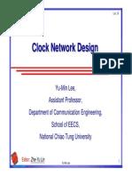 Lec 11 Clock Network Design