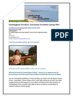SFA E-newsletter Spring 2014 Final