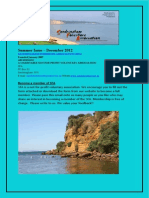 SFA E-newsletter Summer December 2012