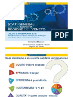 2015 Motore Sanità - Dott. Domenico Mantoan