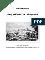 """Grzybałówka"""" w Odrzykoniu"""