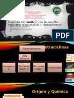Capítulo 92. Antibióticos de Amplio Espectro