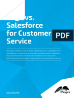 Pega vs Salesforce for Customer Service