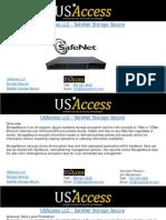 USAccess LLC - SafeNet Storage Secure