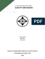 Analisis PT Sari Husada