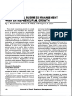 Linking Business Management With E-ship Growth