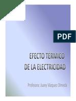 Bloque 1 Efecto Térmico de La Electricidad