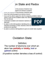 Oxidation Number and Redox