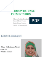 Orthodontic Case Presentation