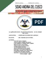 0. La aplicación de la  ley de tercerizacion   en la ciudad del cusco.doc