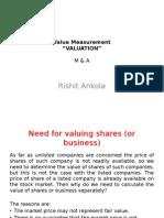 Value Measurement Presentation