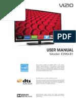 Vizio E390ib1 Manual