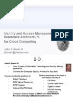 identityandaccessmanagementreferencearchitectureforcloudcomputing-111031112732-phpapp02