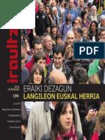 170 IRAULTZEN (aldizkari sindikala, revista sindical, journal syndical)