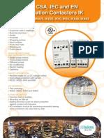 Instalation Contactors UL