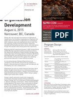 Dialogic Organization Development August 6, 2015 Vancouver, BC, Canada
