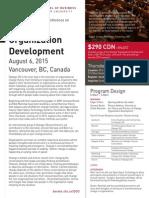 Dialogic Organization Development August 6, 2015 Vancouver, BC, Canada