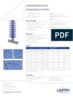 Data Sheet Rodurflex Composite Line Post