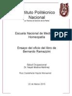 LAS ENFERMEDADES DE LOS VIDRIEROS Y DE LOS FABRICANTES DE ESPEJOS.docx