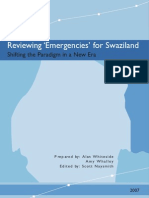 Reviewing Emergencies for Swaziland (AIDS) - Whiteside