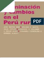 Dom Inacio y Cambio Senel Peru Rural